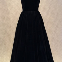 Black ball gown, prom dress, evening gown, party dress, long dress