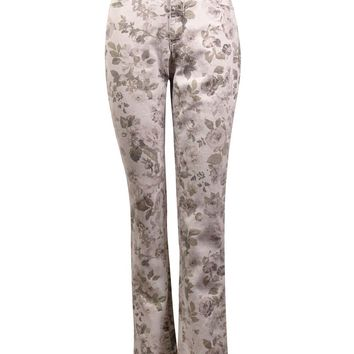 Charter Club Women's Printed Lexington Straight Jeans
