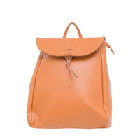 Leather Vintage Style Backpack Tan