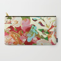clown floral Carry-All Pouch by Clemm