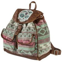 Mossimo Supply Co. Skull Tribe Backpack - Multicolor