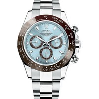 Rolex Cosmograph Daytona Ice Blue Dial Platinum Mens Watch 116506
