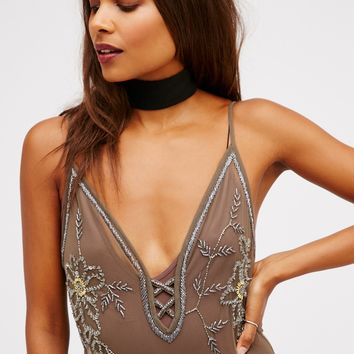 Free People Party Down Slip