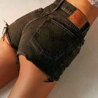 Levi's 501 Mid-Rise Denim Short - Button Fly | Urban Outfitters