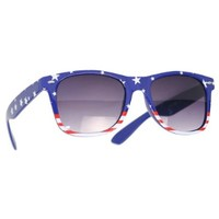 grinderPUNCH® USA American Flag Sunglasses Stars and Stripes