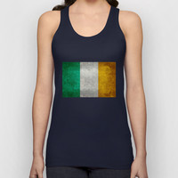 National flag of the Republic of Ireland - Vintage Version Unisex Tank Top by LonestarDesigns2020 - Flags Designs +
