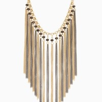 Catalina Fringe Necklace | Fashion Jewelry | charming charlie