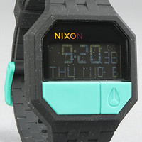 The Rubber ReRun Watch in Black and Teal : Karmaloop.com - Global Concrete Culture