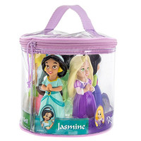 Disney Parks Princess Pool Bath Toys Including Tinkerbell, Tiana, Rapunzel, Mulan, and Jasmine