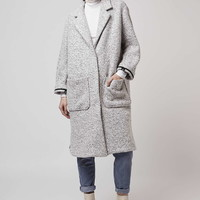 Longline Wool Duster Coat - Topshop