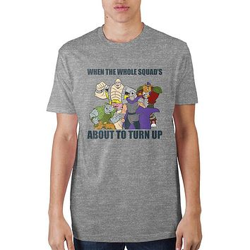 Teenage Mutant Ninja Turtles When The Whole Squad's T-Shirt