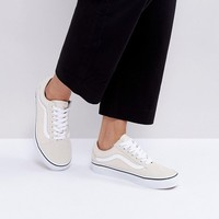Vans Old Skool Sneakers In Off White at asos.com