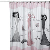 Dressed to Thrill Shower Curtain - Bed Bath & Beyond