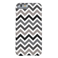 Ombre Chevron Stripe | Black White Gray