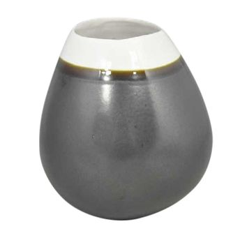 Modern Decorative Ceramic Vase, Gray