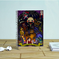 Five Nights At Freddy's Photo Notebook Auroid