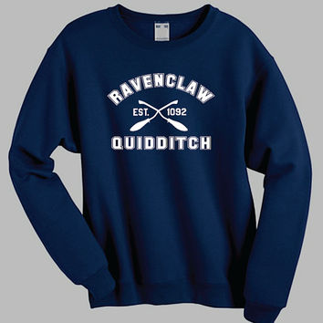 Ravenclaw Quidditch Harry Potter Shirt Sweatshirt Sweater Shirt – Size  S M L XL