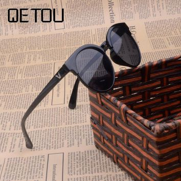 QETOU New 2018 Cute Baby Boy Girls Kids Sunglasses Vintage Round Children Sunglasses UV400 Sun Glasses Oculos De Sol Gafas