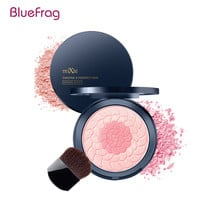 BLUEFRAG Cheek Makeup 2pcs/set Pro Face Modified Blush Rosa Canina Fruit Oil Two Colors Natural Blusher Dual Shimmer Brand MiXiu