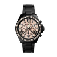 MICHAEL KORS WATCH  WOMEN JETSET WREN STAINLESS STEEL MK5879