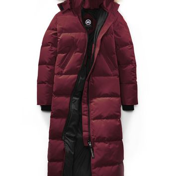 CANADA GOOSE winter women Down jacket/Red wine