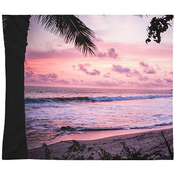 Reiki Charged Palm Trees Wall Tapestry Ocean Art Yoga Meditation Mandala Wall Hanging