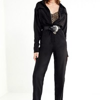 Lioness Lara Button-Front Jumpsuit | Urban Outfitters