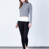 Foldover Yoga Leggings