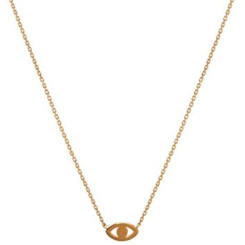 Lucky Eye Dainty Necklace
