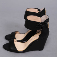 Breeley Wedge by Jessica Simpson {Black}