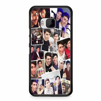 Dan And Phil Collage HTC M9 Case
