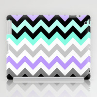Chevron #14 iPad Case by Ornaart