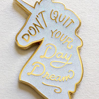 """Unicorn Day Dream"" Pin"