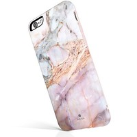iPhone 6 Plus / 6s Plus case marble, Akna New Glamour Series Flexible Soft TPU cover with Fabulous Glossy Pattern for both iPhone 6 plus & iPhone 6s plus [Marble Texture #17](243-U.S)