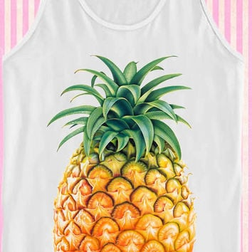 Pineapple Fruit for Tank Top Mens and Tank Top Girls