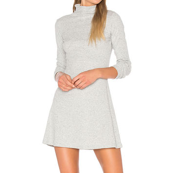 Rib Funnel Neck Dress by MINKPINK