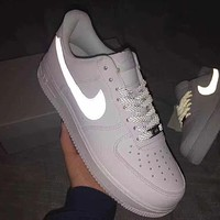 Nike Air Force 1 Reflective Low Inspired