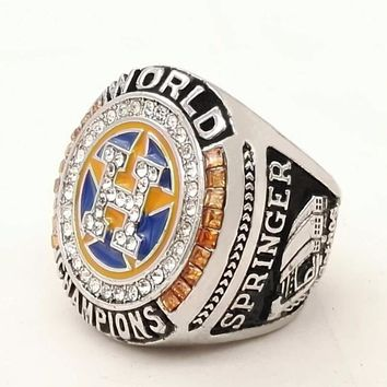 2017 Houston Astros Baseball custom sports Replica Men world Championship ring
