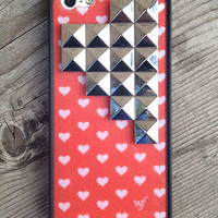 Sweetheart Silver Pyramid iPhone 5/5s Case