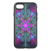 Mandala from the Center Colorful Fractal Art OtterBox Symmetry iPhone 7 Case