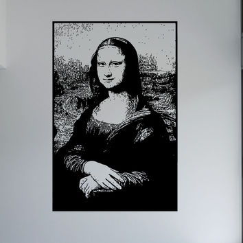 Vinyl Wall Decal Sticker Mona Lisa #5403
