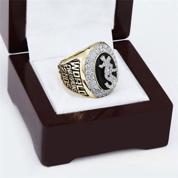 Chicago White Sox Championship Ring 2005 Replica World Series Baseball Rings Antique Jewelry US
