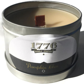 1776 Candle Company - Soy Scented Candle Pumpkin Chai