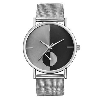 Sliver Gold Mesh Stainless Steel Watches