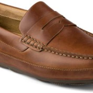 Sperry Top-Sider Hampden Penny Loafer Tan, Size 7.5M  Men's Shoes