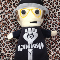 Hunter S. Thompson inspired - My T-Shirt Buddy Doll