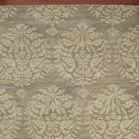 Bird Medallion Rug - Gray