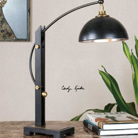 Uttermost Malcolm Oil Rubbed Bronze Desk Lamp