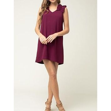 Young Love Dress | Garnet