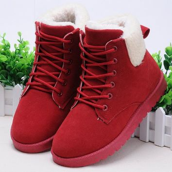 Autumn and Winter Boots Snow Boots for Women and Men Martin Boots Genuine Leather Boot